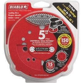 "Diablo 15Pk 5""150G Sanding Disc"