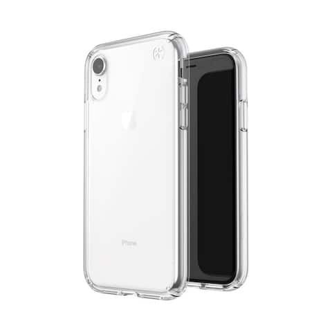 Speck Presidio Stay Clear Designed for Impact Case for iPhone Xr - Clear/Clear