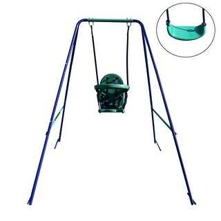 Link to ALEKO 2-in-1 Convertible Portable Toddler and Children's Swing Chair Similar Items in Outdoor Play
