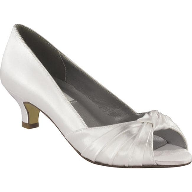 95b578b0b Shop Dyeables Women's Becky White Satin - On Sale - Free Shipping Today -  Overstock - 9257536