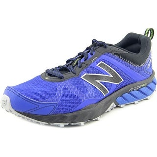 New Balance MT610 Men Round Toe Synthetic Blue Trail Running