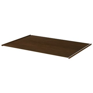 "Sunny Wood HBA4834IBP  Healdsburg 48"" x 34-1/2"" Island Back Panel with 2 Corner Moldings - Rich Walnut"