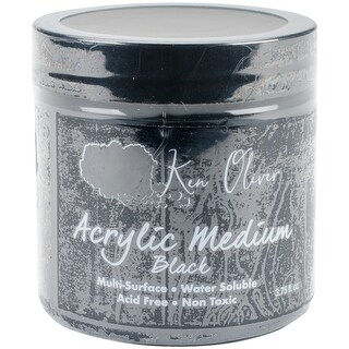 Black - Ken Oliver Acrylic Medium