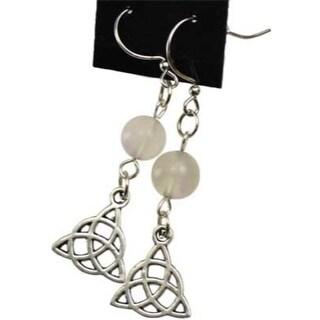 FluoriteTriquetra earrings