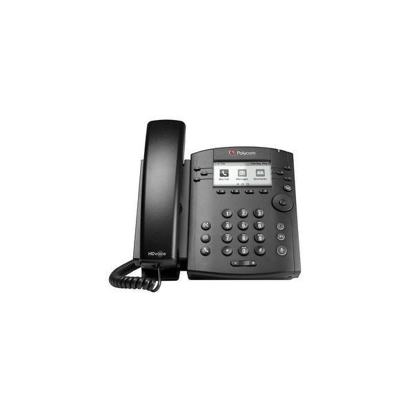 Polycom VVX 310 2200-46161-025 6-line Entry-Level Business Media Phone with Gigabit Ethernet