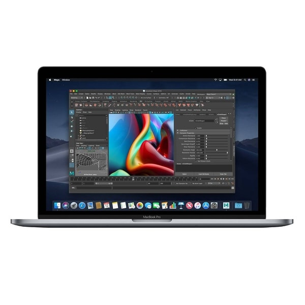 Macbook Pro 13.3-inch (Retina, Silver, Touch Bar) 2.3Ghz Quad Core i5 (Mid 2018) 512 GB Hard Drive 8 GB Memory - Silver. Opens flyout.
