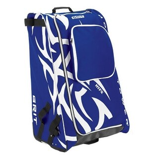"Grit Inc HTFX Hockey Tower 33"" Wheeled Equipment Bag Royal HTFX033-TO (Toronto) - 33''h x 20''w x 17''d"