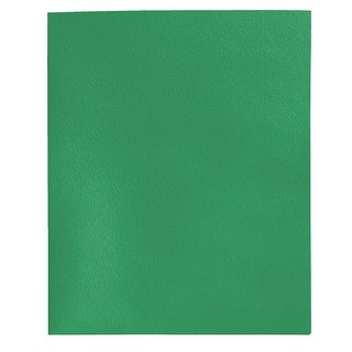 School Smart 2 Pocket Folder with Fasteners, Green, Pack of 25