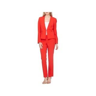Tahari ASL Womens Pant Suit Office Wear 2 PC