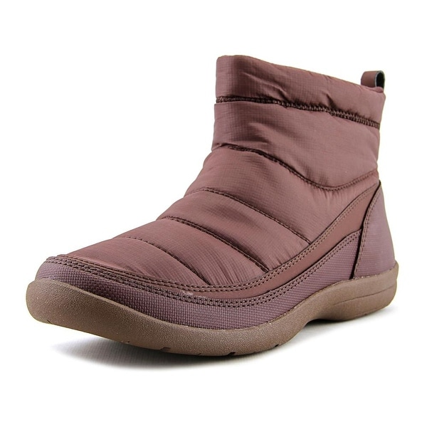Easy Spirit Kamlet Women Round Toe Canvas Purple Ankle Boot