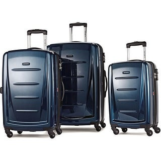 Samsonite Winfield II Fashion HS Spinner 3 Piece Set, Deep Blue