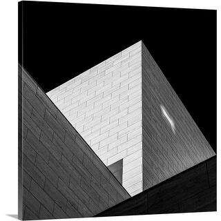Hilde Ghesquiere Premium Thick-Wrap Canvas entitled Triangles