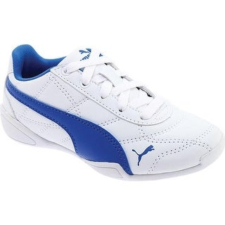 PUMA Boys' Tune Cat 3 PS Sneaker PUMA White/Strong Blue