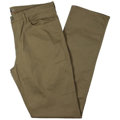 Dockers Mens Big & Tall Straight Leg Jeans Twill Classic Fit - Tan - 38/38