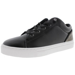 Guess Womens Jollie Fashion Sneakers Faux Leather Studded