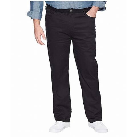 Dockers Mens Pants Black Size 52X30 Big & Tall Jean-Cut Comfort Stretch
