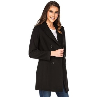 Link to Haute Edition Double Breasted Wool Blend Peacoat Winter Jacket Coat Similar Items in Dresses