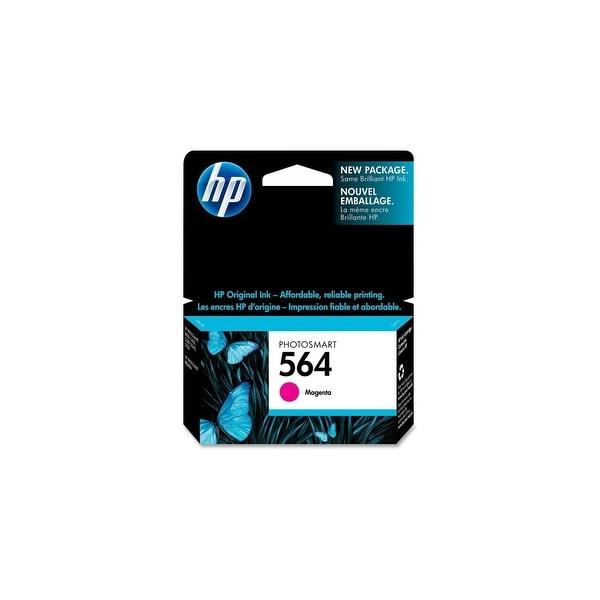 HP 564 Magenta Original Ink Cartridge (CB319WN)(Single Pack)
