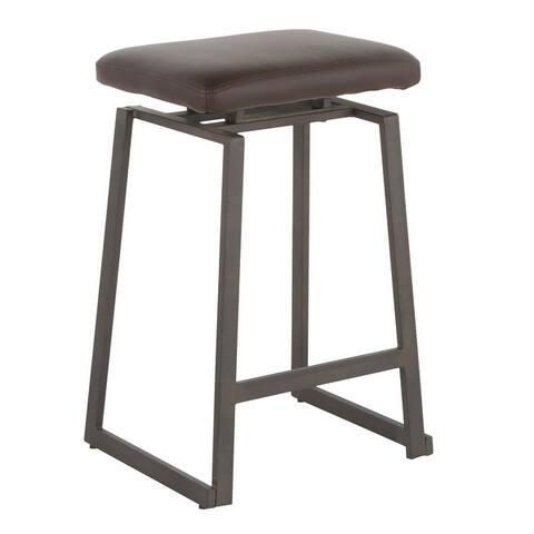 Carbon Loft Richard Upholstered Counter Stools - Set of 2