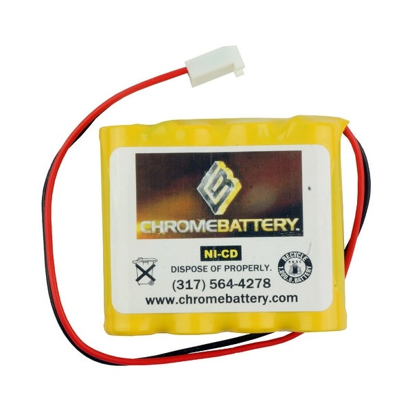 Emergency Lighting Replacement Battery for Dual-Lite - 0120790 REV B