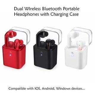 Dual Airpod-Style Wireless Bluetooth Portable Headphone Sports Headset