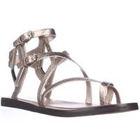 Dolce Vita Ferrah Gladiator Sandals, Light Gold - 7 us