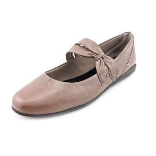 Walking Cradles Feline Round Toe Leather Mary Janes