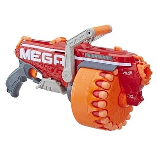 Link to Megalodon Nerf N-Strike Mega Toy Blaster With 20 Official Nerf Mega Whistler Darts Similar Items in Outdoor Play