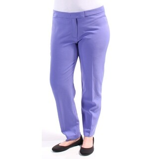 Womens Purple Wear To Work Pants Size 12