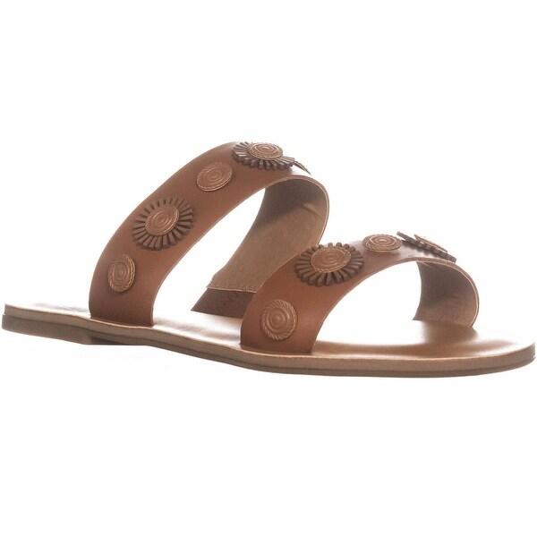 Lucky Brand Adalyn Slip On Slide Sandals Macaroon