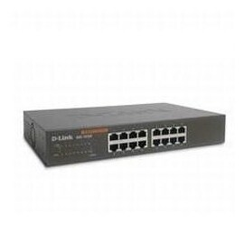 D-Link Switch DGS-1016D 16-Port 10/100/1000 Rackmountable Switch