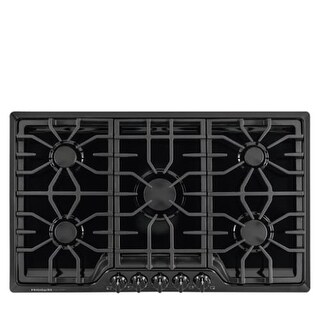 Frigidaire FGGC3645Q 36 Inch Wide Five Burner Gas Cooktop with Express-Select Controls from the Gallery Series