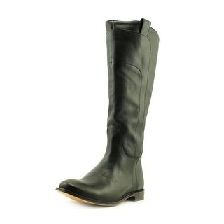 Frye Paige Tall Riding Round Toe Leather Knee High Boot