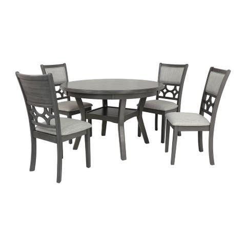Mitchell 5 Pc Dining Set-Gray