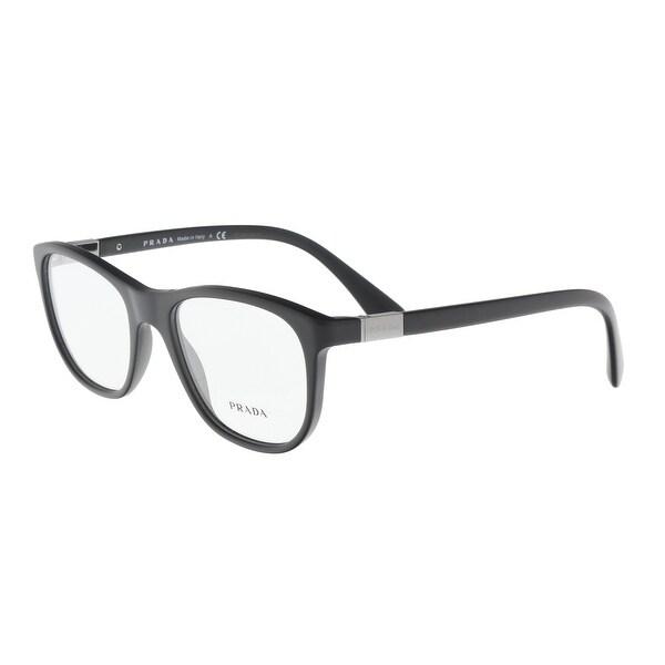 7628c5de54da Shop Prada PR 29SV 1BO1O1 Matte Black Square Optical Frames - 52-19 ...