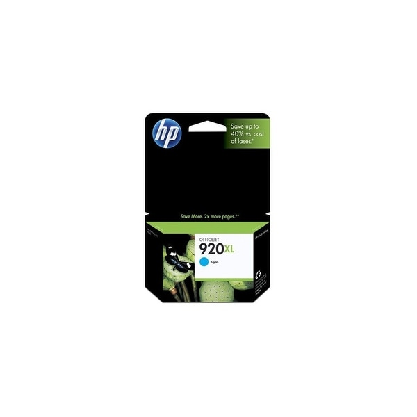 HP 920XL High Yield Cyan Original Ink Cartridge (CD972AN)(Single Pack)