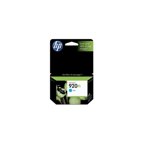 HP 920XL High Yield Cyan Original Ink Cartridge (CD972AN)(Single Pack)