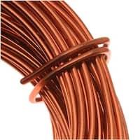 Beadsmith Copper German Bead Wire Craft Wire 18 Gauge/1mm (4 Meters / 13.1 Feet)