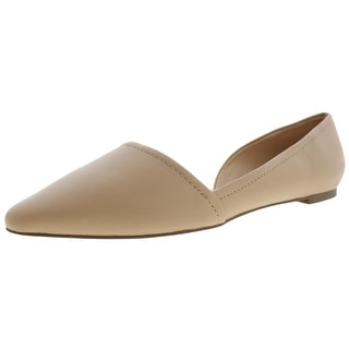 Franco Sarto Womens Spiral Leather Pointed Toe D'Orsay