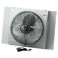 """Air King 9166  26-3/4"""" 3560 CFM Whole House Window Mounted Fan with Storm Guard Housing from the Window Fans Collection -"""