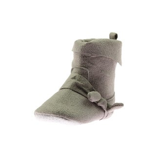 Luvable Friends Booties Bow Faux Suede (3 options available)