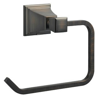 Design House 560474 Torino Towel Ring, Brushed Bronze