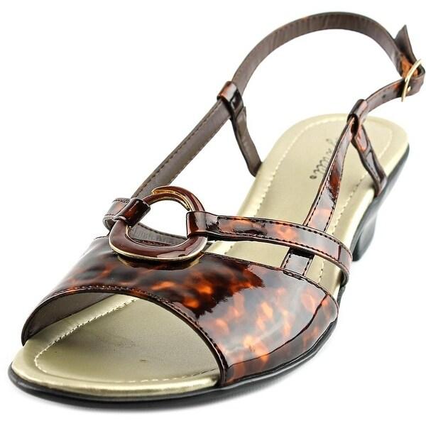 4d2911479 Shop Easy Street Tempe Women Open Toe Synthetic Sandals - Free ...