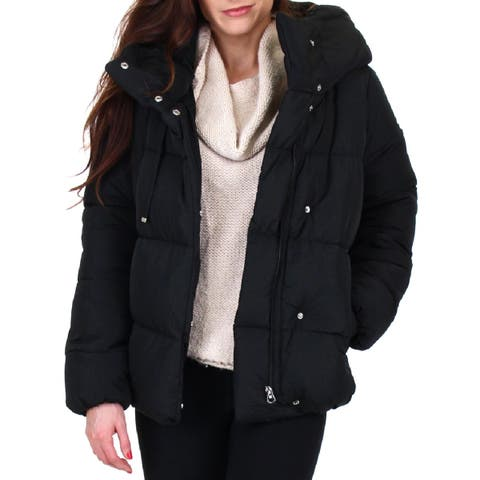 Jessica Simpson Womens Puffer Coat Quilted Winter