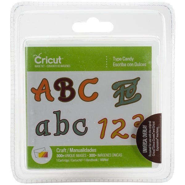 Cricut Font Cartridge-Candy