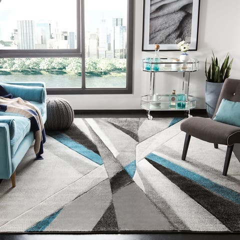 Safavieh Hollywood Baylee Mid-Century Modern Abstract Rug