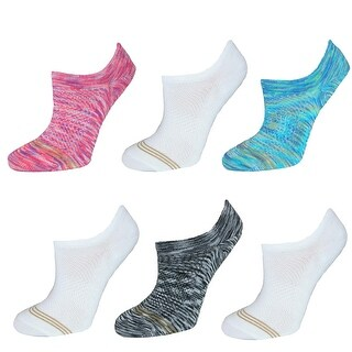 Gold Toe Girl's Invisible Liner Socks (6 Pair Pack)