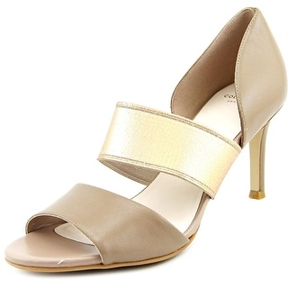 Cole Haan Belline Ot Women Open-Toe Leather Heels