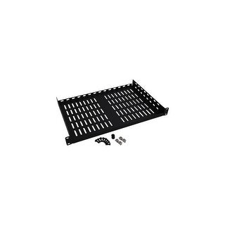 Tripp Lite SRSHELF2P1U Tripp Lite SRSHELF2P1U Cantilever Fixed Rack Shelf - 1U Wide - Black - 40 lb x Maximum Weight Capacity