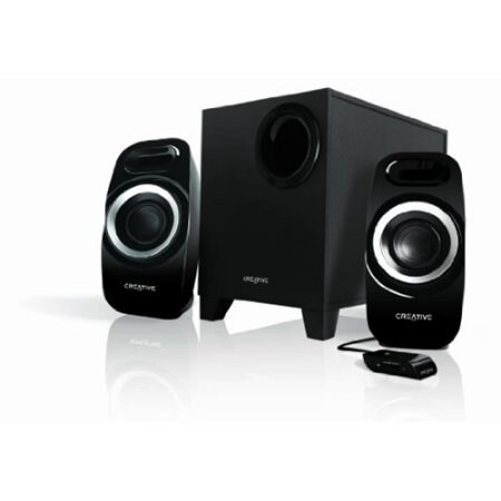 Creative Labs 51Mf0415aa002 Inspire T3300 2.1 Speaker System